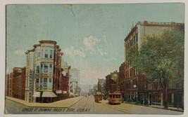 Old Divided Back Era Postcard Genese St. Showing Fraser's Store, Utica, ... - $12.69