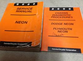 2000 Dodge Mopar Neon Servizio Riparazione Negozio Officina Manuale OEM ... - $13.98