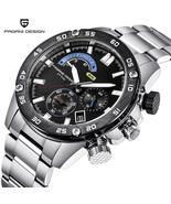 PAGANI DESIGN Men's quartz, waterproof, luxury wristwatch.M-PD 3310 - $129.99