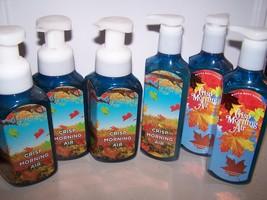 6 Bath & Body Works Crisp Morning Air Gentle Foaming & Deep Cleansing  H... - $28.50