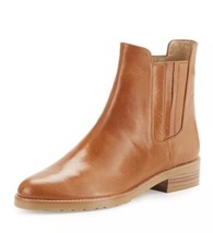New $525 Stuart Weitzman Basilico Pull On Camel Leather Ankle Boots Booties 7.5 - $314.28