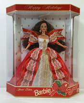 Happy Holidays Barbie Doll - Special Edition 10th Aniversary Hallmark 5t... - $44.99