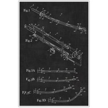Weapons Patent Print, Samurai Sword Patent Blueprint , Weapon Photo Art - $11.39+