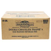 Ghirardelli Chocolate Frappe Classico, Double Chocolate, 10-Pound Box - $72.93