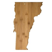 Totally Bamboo 20-7995VT Vermont State Shaped Bamboo Serving & Cutting B... - $24.12