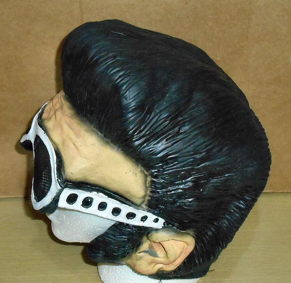 2002 Paper Magic Group- Elvis Presley-Like Latex Mask