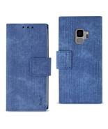Reiko Samsung Galaxy S9 3-In-1 Wallet Case In Navy - $9.19