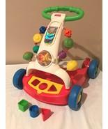Fisher Price Walker to Wagon Brilliant Basics Shape Sorter Baby Toddler Toy - $18.99