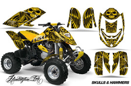 ATV Graphics Kit Decal Quad Wrap For Can-Am Bombardier DS650 DS 650 HISH... - $168.25