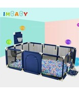 Gift Baby Pool Fence Balls Safety Barrier Playpen Fence For Newborn Chil... - $92.38+