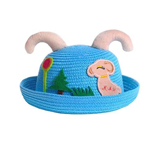 Sun Hat Summer Baby Cap Breathable Hat Round Cap Sunshade Baby Hat