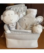 Joe Monkey Baby Gift Basket - $75.00