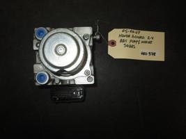 05 06 07 HONDA ACCORD 2.4 ABS PUMP & MODULE #SDAA2 - $49.50