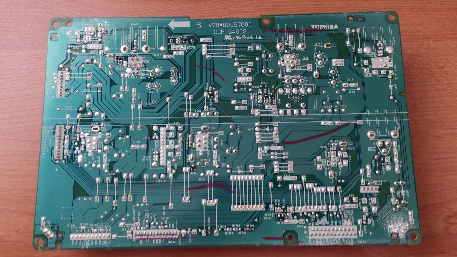 Toshiba 75008640 (PE0453A, V28A00056801) Low B Board