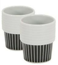 Rorstrand Home Minimalistic Cups Striped White Size OS - $39.40