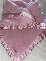 Child of Mine Carters Sweet Elephant Pink Polka Dot Sherpa Baby Blanket - $39.59