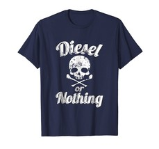 Diesel or Nothing Skull T-Shirt 4X4 Offroad Gas Mask Tee - $17.99+