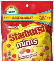 Starburst Original Fruit Chews Minis Unwrapped - $8.76