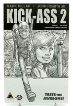 Kick-Ass 2 #1 Third 3rd Printing Variant Cover Icon Marvel Comics Mark Millar - $9.74