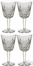 Waterford Crystal LISMORE Claret Wine Glasses Set of FOUR (4) 154038 Bra... - $209.53