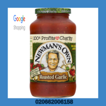 Newmans Own, Sauce Pasta Tomato Roasted Garlic, 24 Ounce, 4 Jars Included - $25.00