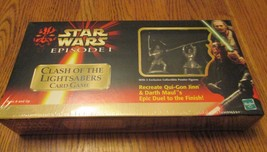 BRAND NEW Star Wars Episode 1 Clash of the Lightsabers Card Game - $4.74