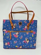 Disney Dooney & and Bourke Flower Garden Festival Minnie Mouse Tote EPCO... - $321.74
