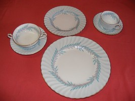 Minton Symphony 6 pc Place Setting English Bone China Mint - $99.00