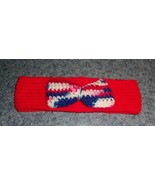Brand New Crocheted Patriotic Dog Bow Tie Collar East Coast Corgi Rescue... - $9.39