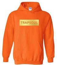 CC Bryson Tiller Trapsoul Hoodie Safety Orange (Gold Print) - $29.99