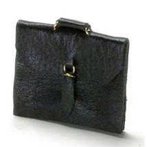 Dollhouse Briefcase Satchel Attache Case a1658bk Falcon Miniature - $11.28