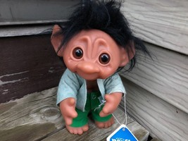 """Vintage NORFIN DAM TROLL 6042 HECTOR 9.5"""" w Tag Made in Denmark - $59.35"""