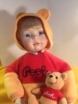 "Ashton Drake/Cindy McClure/Disney Porcelain & Cloth Doll ""YOU NEED A HUG... - $15.85"