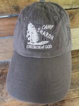 Camp Sharon Church Of God Adjustable Strapback Adult Hat Cap - $8.90