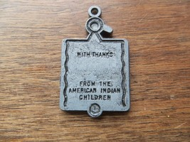 From The American Indian Children,With Thank Charge Coin Keychain Merchant Token - $14.20