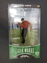 Tiger Woods Pro Shots Golf Figure 2000 PGA US Open Champion Upper DeckN... - $26.17