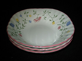Johnson Brothers Summer Chintz 3 Square Cereal Bowl More AVL Excellent LOOK - $19.95