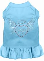 Angel Heart Rhinestone Dress Baby Blue XXXL (20) - £13.12 GBP