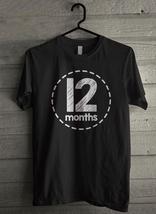 12 Months Baby Bodysuit Men's T-Shirt - Custom (011) - $19.12+