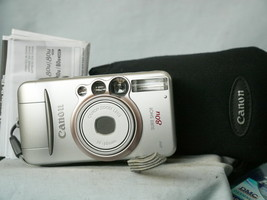 Canon Sure Shot 80U Zoom Quality 35mm Compact Camera Cased - Nice -Film ... - $30.00