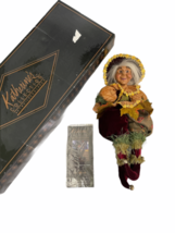 "IOB Box Katherine's Collection Wayne Kleski 17.5"" Tall Doll Retired Fairy Pixie image 2"