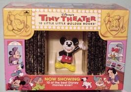 1993 Disney Tiny Theatre 10 Little Golden Books NIB - $29.95