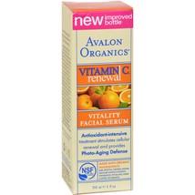 Avalon Organics Vitality Facial Serum Vitamin C - 1 fl oz - $28.09