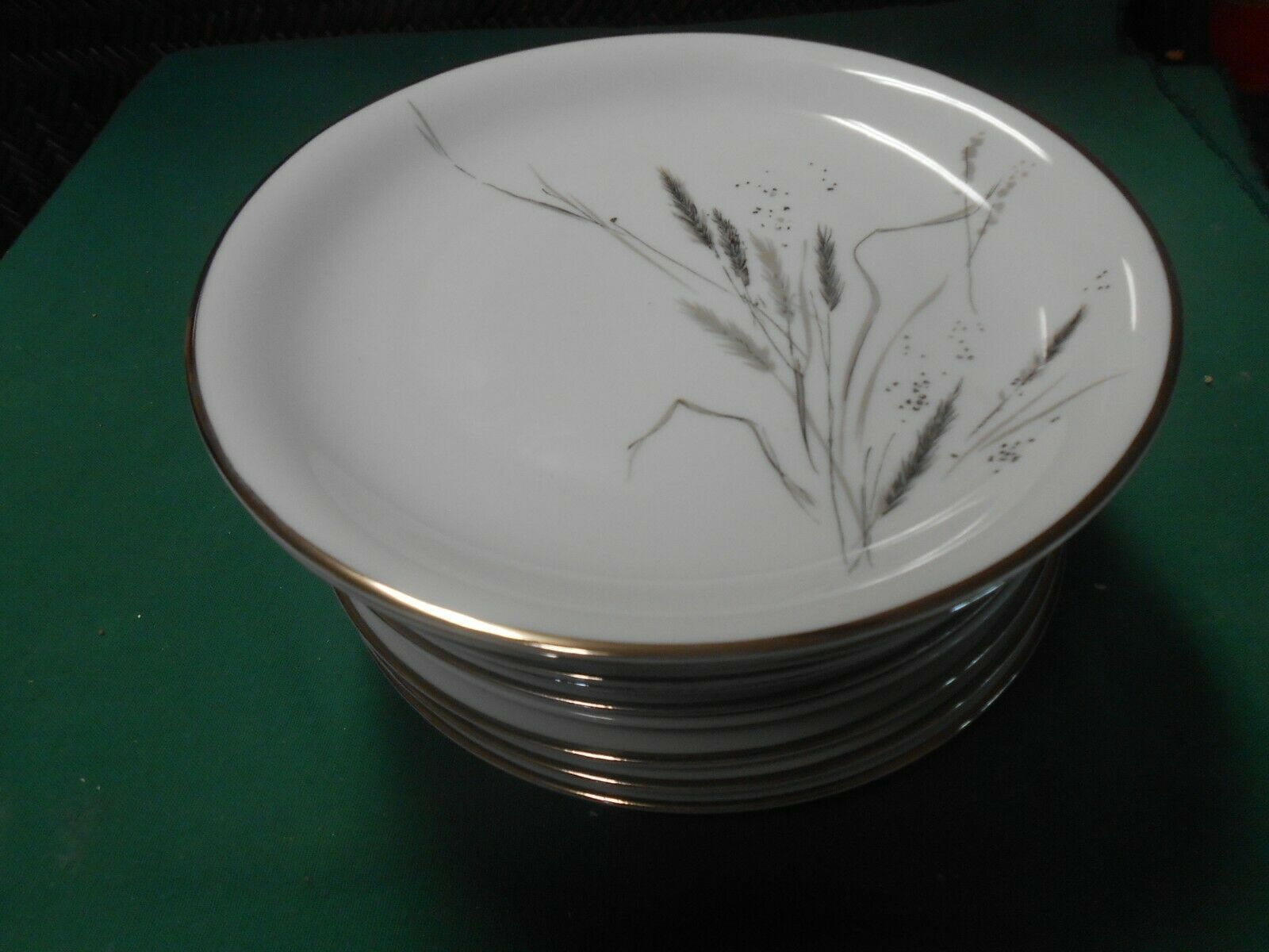 "Primary image for ROSENTHAL Selb-Plossberg Bavaria Germany Ceres ""Wheat""  13 BREAD Plates     7.5"""