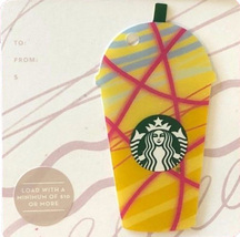 Starbucks 2018 Yellow Frappuccino Collectible Gift Card New No Value - $1.99