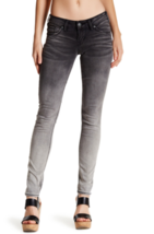 Silver Jeans Co. Aiko Mid Skinny sz 29 Slightly Curvy Super Stretch Blac... - $56.06