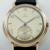 Omega Ω 18k Yellow Gold Men's Hand-Winding Watch Calibre 30T2PC 1940s - $2,829.92