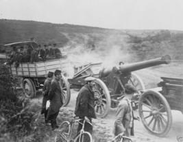 French army truck towing a siege gun 1914 World War I 8x10 Photo - $8.81