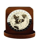 Woodessen, Paper Weight - Walnut, Solid Wood, World Time Zones. - $14.56