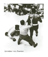INGEMAR JOHANSSON vs FLOYD PATTERSON 8X10 PHOTO BOXING PICTURE - $3.95